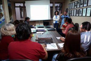 Saae Guanhães apresenta estratégias para período de estiagem. Foto: Nara Generoso/Ascom Prefeitura de Guanhães.