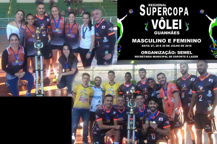 Vencedores Supercopa Vôlei 2018